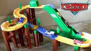 Download Tomica Mountain Drive Playset Disney Pixar Cars 2 Takara Tomy CARS TOYS BTCトミカ峠 やまみちドライブ Video