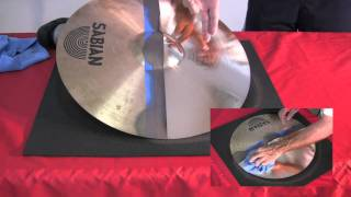 Download CYMBAL DOCTOR PROFOUND NEW CYMBAL CLEANING METHOD! Video