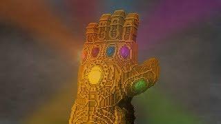 Download Marvel's Infinity Gauntlet - Minecraft Timelapse Video