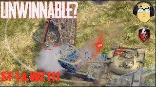 Download UNWINNABLE ST-1 GAME & WZ 111 WORLD OF TANKS BLITZ Video