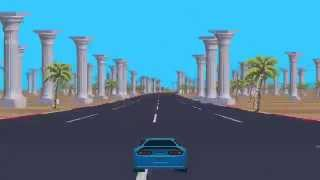 Download Slipstream - Pseudo 3D Racing Game (WIP) Video