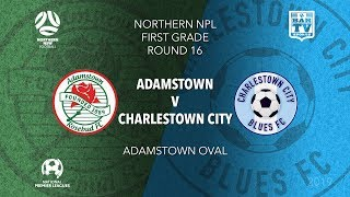 Download 2019 NPL Northern NSW 1st Grade - Round 16 Catch up - Adamstown Rosebud v Charlestown City Blues Video