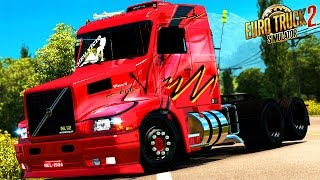 Download EURO TRUCK SIMULATOR 2│MOD│VOLVO EDC 360│INTERIOR│PACK DE SOM Video