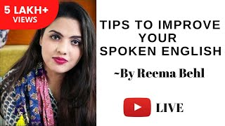 Download Tips to improve your Spoken English by Reema Behl - Unacademy Video