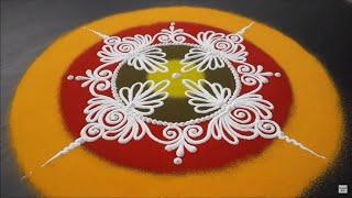 Download Sanskar Bharati Rangoli Design Video