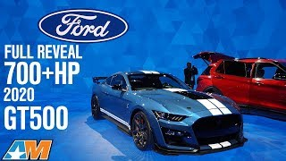 Download Full Reveal 700+hp 2020 Shelby GT500 + Interview With GT500 Engineer - Mustang News Video
