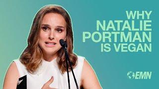 Download Natalie Portman Talks About Being Vegan at 2017 EMA Awards Video