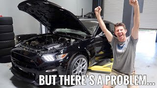 Download Supercharged Mustang GT FIRST START UP!!! Video