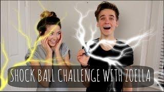 Download Shock Ball Challenge With Zoella! | ThatcherJoe Video
