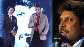 Download Indian Cricketer Sandip Patil Trolls Kapil Dev's English At 1983 Biopic Launch Video