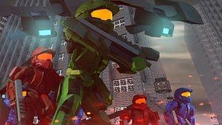 Download Minecraft   Good vs Evil - HALO LAST RESORT BASE INVASION! (UNSC vs Covenant) Video