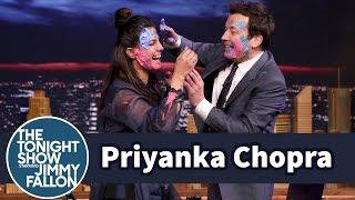 Download Priyanka Chopra and Jimmy Celebrate Holi with a Messy Paint Fight Video