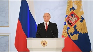 Download Putin delivers annual address to Federal Assembly in Moscow (FULL VIDEO) Video