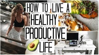 Download Tips for Living a Productive & Healthy Life | What I Eat in a Day #10 Video