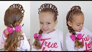 Download Penteado Infantil Princesa com Coroa de Cabelo Video