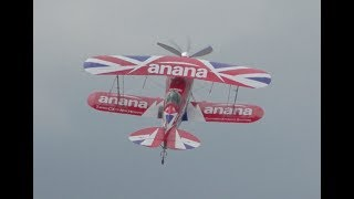 Download Pushes to the limits ! High Energy Muscle Biplane stunning takeoff + Touch and Go Video