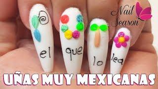 Download Uñas mexicanas acrilicas. Mas mexicanas no se puede - Fiestas patrias Video