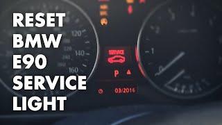 Download How to reset BMW E90/E92 Service Light - Oil, Brake Fluid, Etc Video