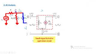 Download 5 quite difficult Common Emitter BJT Amplifier Example. Video