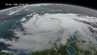Download GPM Captures Hurricane Matthew Over Haiti Video