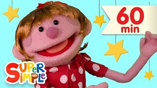 Download Here We Go Looby Loo | + More Kids Songs | Super Simple Songs Video
