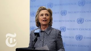 Download Hillary Clinton Answers Questions on Email Controversy [FULL] | The New York Times Video
