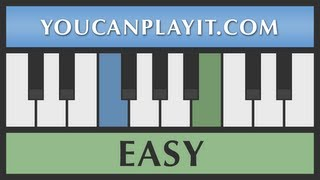 Download Away in a Manger PIANO TUTORIAL   Easy Christmas Songs for Beginners Video