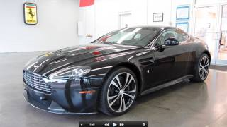 Download 2011 Aston Martin V12 Vantage Carbon Black Edition Start Up, Exhaust, and In Depth Tour Video