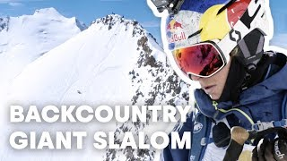 Download Alpine Skiing Meets Big Mountain Freeriding Video
