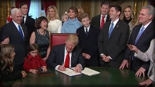 Download RIGHT AFTER TAKING OFFICE, TRUMP MADE 2 NEW RULES THAT ALL AMERICANS MUST FOLLOW OR ELSE! Video