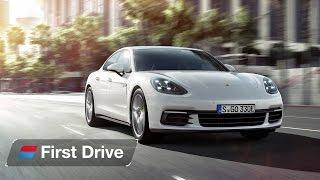Download 2017 Porsche Panamera 4 E Hybrid first drive review Video