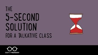 Download The 5 Second Solution for a Talkative Class Video