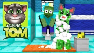Download Monster School : Talking Tom Challenge - Minecraft Animation Video