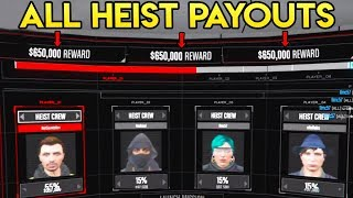 Download GTA Online - ALL DOOMSDAY HEIST PAYOUT TOTALS! What Each Heist Act Pays! Video