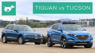 Download 2017 Volkswagen Tiguan vs 2017 Hyundai Tucson Comparison Review Video