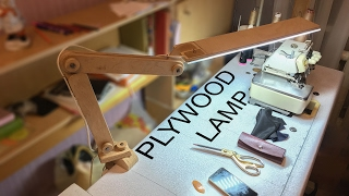 Download Plywood LED Desk Lamp You Can Make in One Day! Video