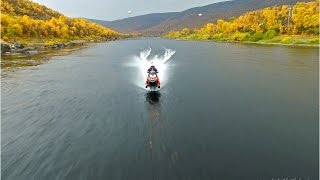 Download New World Record with snowmobile on water 212 km Video
