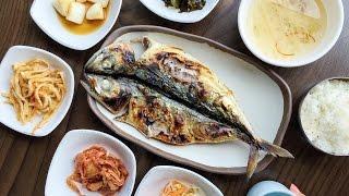 Download Grilled Mackerel at Jeju Island & Climbing Ilchulbong Peak Video