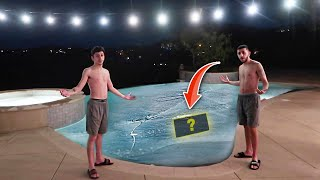 Download FIND THE MYSTERY ITEM IN THE FREEZING COLD POOL! Video