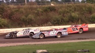 Download Topless RUSH Crate Late Model B-Main | Genesee Speedway | 9-17-17 Video