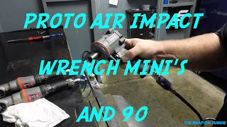 Download PROTO TOOL AIR IMPACTS MINI'S AND 90 🛠🦍🔥🔥🚜🔩 Video