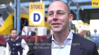 Download Trein Test Team test stoelen Nieuwe Intercity Video