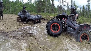 Download Who will break first? Polaris Sportsman xp1000 High Lifter, Can Am Renegade Xmr1000r Video