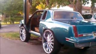 Download 87' Cutlass Squatin on 28's, Lambo Doors, Gator Guts Video