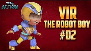 Download Vir: The Robot Boy | Hindi Cartoon Compilation For Kids | Compilation 02 | WowKidz Action Video