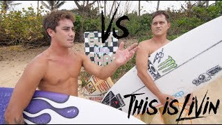 Download KOA ROTHMAN vs MAKUA ROTHMAN Surf off! Video