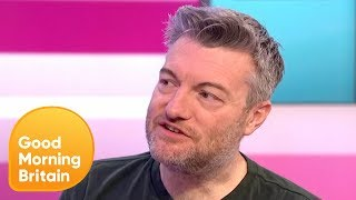 Download Charlie Brooker on Black Mirror Vs Reality   Good Morning Britain Video