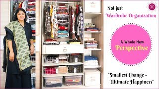 Download Indian Wardrobe Organization Tips / A Whole New Perspective / Closet Organization Ideas Video