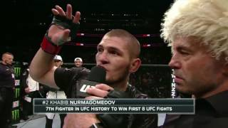Download UFC 205: Khabib Nurmagomedov Octagon interview Video