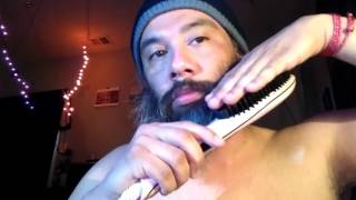Download Beard Hair Straightener Straighening Brush 450 Degrees HOT (01) Video